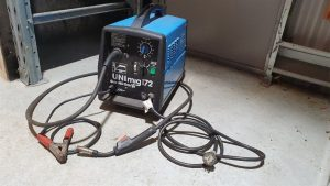 Simple MIG welding machine